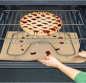 customized smooth surface teflon oven liner