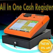 fast food restaurant equipment pos terminal with card skimmer