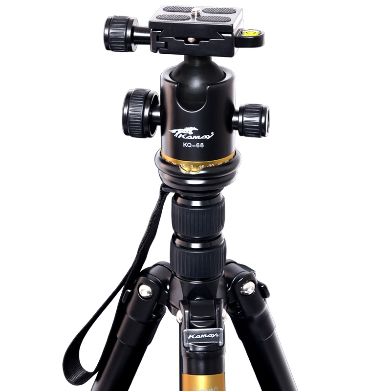 Sinnofoto Heavy duty Aluminum DSLR Professional Flexible camera tripod