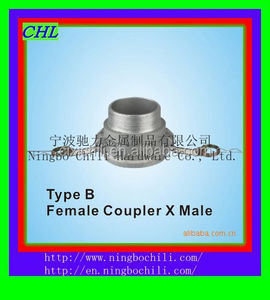 camlock coupling/Pipe fitting type B