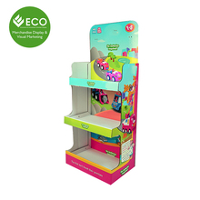 Cardboard Stand Up Display Paper Display Board for Toys
