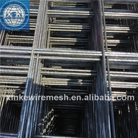 Concrete reinforcing galvanized black welded wire mesh rolls