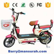 48V 200W Cheap Electric Bike/2 seat Electric Bike/Electric Bicycle with pedals --LS5--3