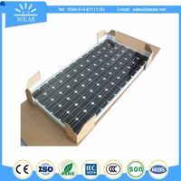 low price Superior solar panel with integrated battery