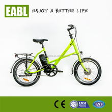 mini electric road bicycle with low noise no pollution green city