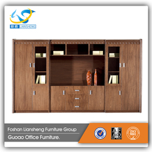 Good quality solid wood bookcase drawer painting wooden filing cabinets design GAC2937
