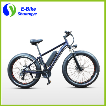 26''*4.0 36v lithium battery powered fat tire electric bicycle