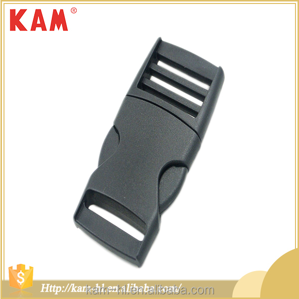 Wholesale custom colorful backpack bag accessories side release plastic buckle safety for strap belt OEM ODM OEKO BSCI