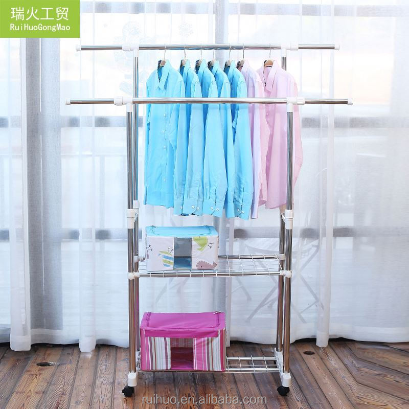 Factory supply vogue cheap laundry novelty garment rack