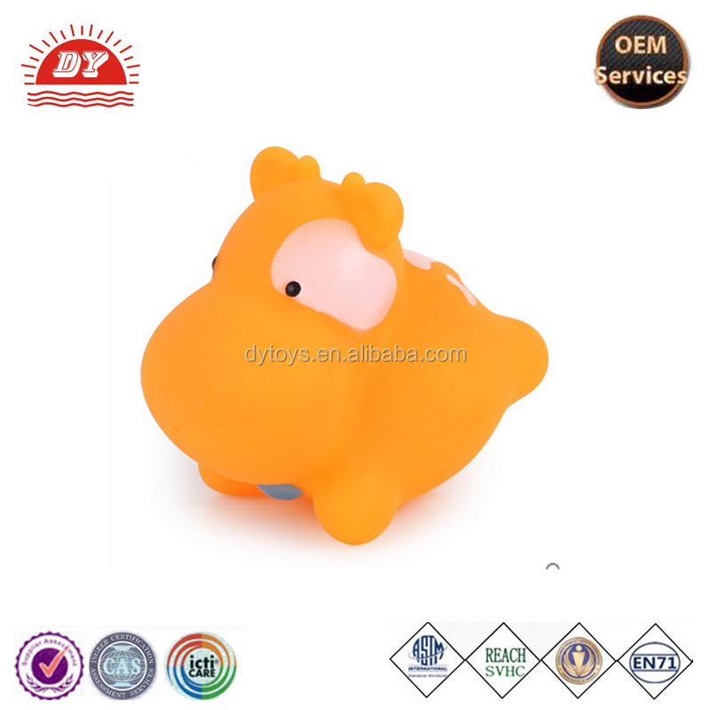 ICTI certificated custom make animal shape squeeze toy with tongue