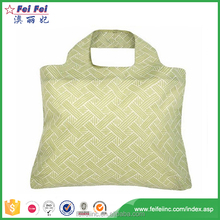 Waterproof polyester foldable tote Shopping bag, reusable lady folding tote Bag