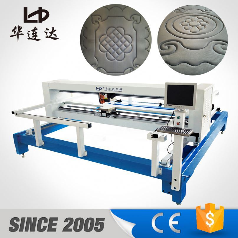 industrial chain stitch quilting machine price, computerized shuttleless quilting machinery for mattresses