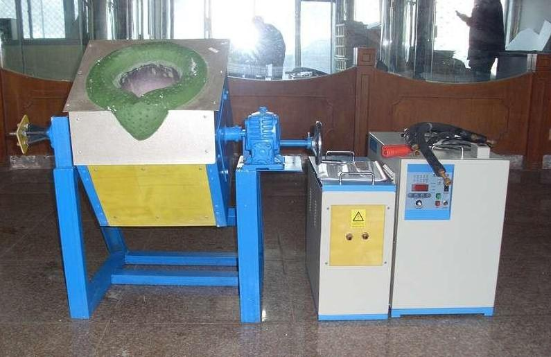 aluminium scrap Metal Melting Furnace , titanium / platinum / tin / brass / steel /copper melting furnace