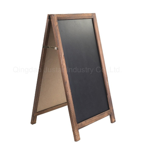 Easy cleaning black magnetic chalk board