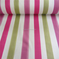 Creed Stripe Pink green Curtain Craft Fabric