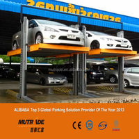China Two Cars Stopping parking lift car accessories
