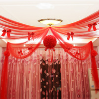 2015 Wedding Setting Ceiling Hanging Home Decor Fabric