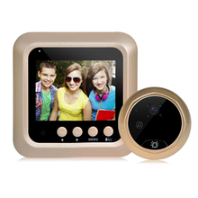 WIFI peephole door bell ip camera/ door bell camera/ wireless video door phone