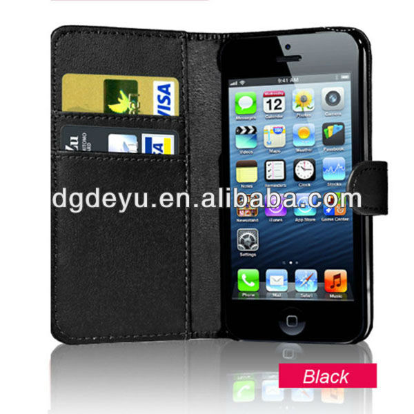 Wallet phone case for iPhone 5