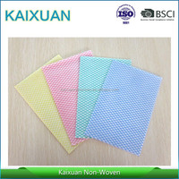Customized different color needle punched printed nonwoven felt fabric