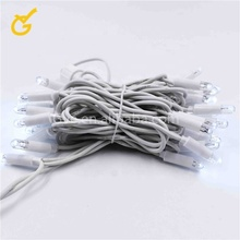 220V 230V 240V ip65 outdoor rubble cable LED string light CE ROHS waterproof in holiday lighting