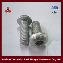 ISO 7380 Hexagon Socket Round Head Cap China Screw M3~M12