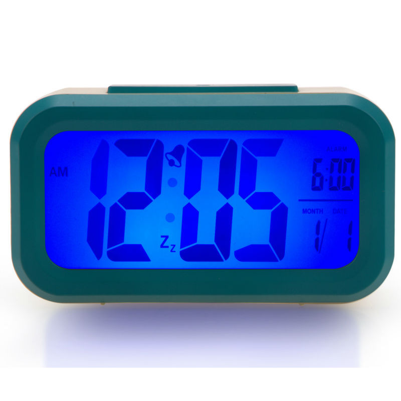Digital bedroom clock