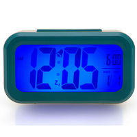 Customized PLastic LCD Bedroom Digital Clock