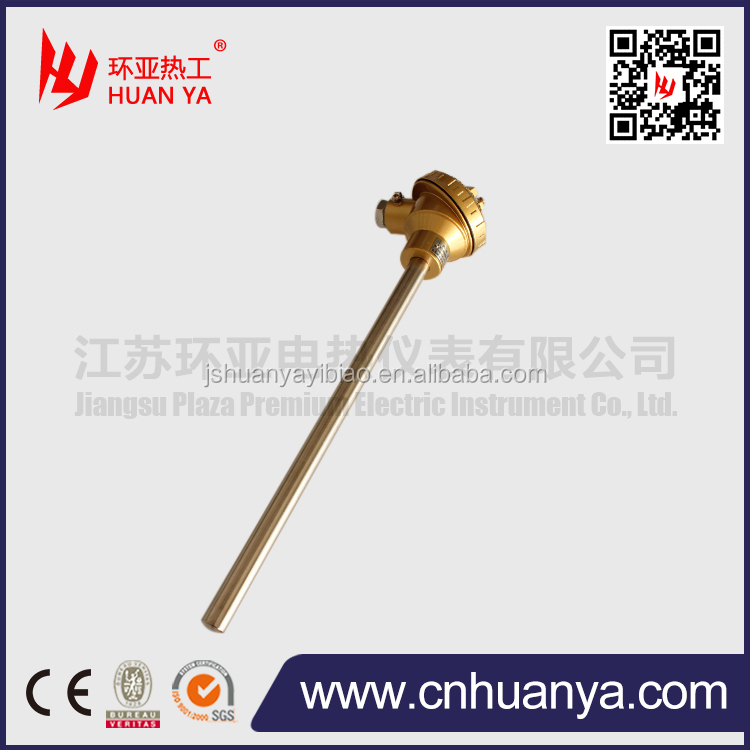J type thermocouple with high temperature range
