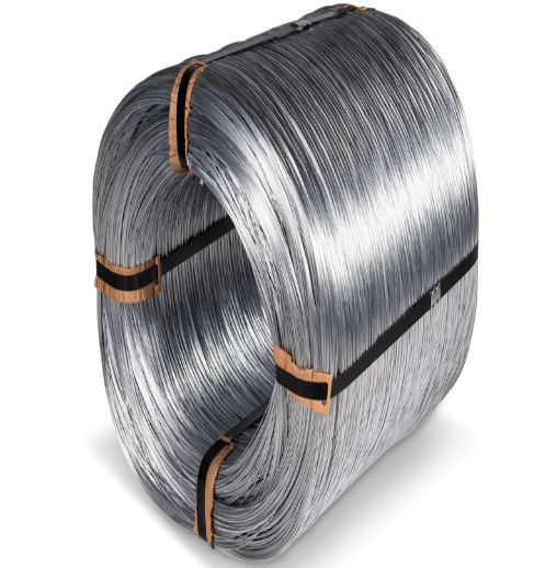 <strong>Q195</strong> hard drawn steel wire hot-dip galvanized low carbon factory price for nail making