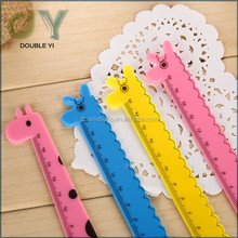 custom/ wholesale plastic length scale colorful rule