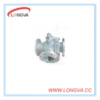 China manufacturing 3 way hydraulic valves 4 inches
