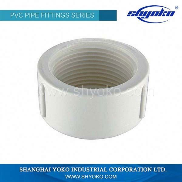 PVC Male Plug Male End Cap PVC Threaded Plug