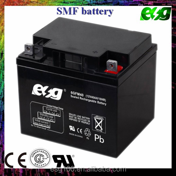 SLA AGM battery VRLA 12v 40ah ups battery