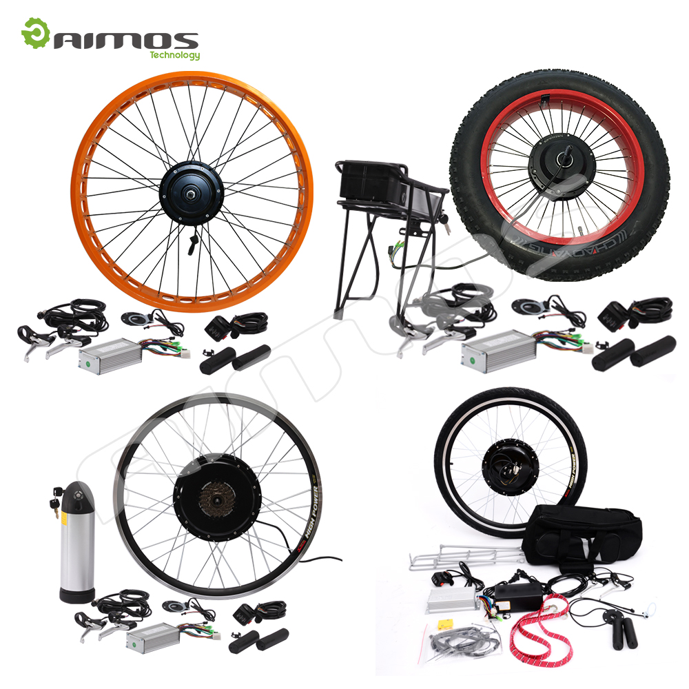 Bicycle electric mid conversion kit 1000w bafang bbs03 for Bicycle electric motor kits