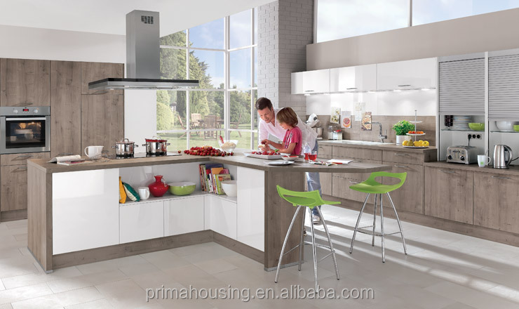 Wholesale kitchen units mdf kitchen cupboard doors popular for Cheap kitchen unit doors