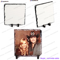 Glossy and Matte sublimation rock slate wholesale ,sublimation blank photo rock