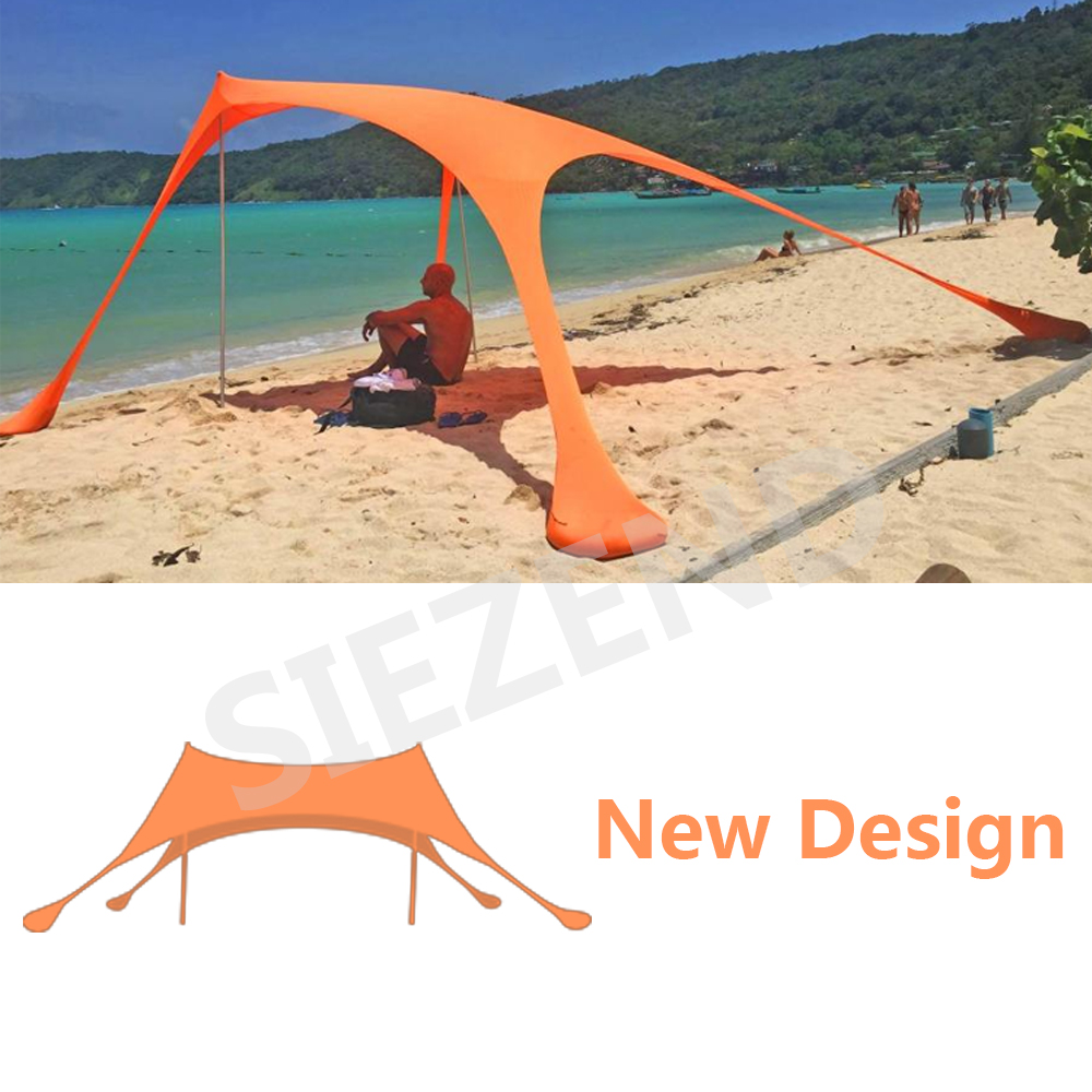 2018 Trending Products Lycra Fabric Shade Tent/ Beach Shader/ Sun Shade, New Design Outdoor Camping Beach Tent Sun Shelter