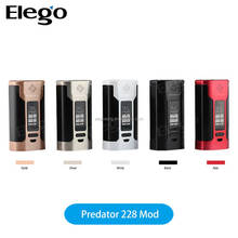 Elego E Zigaretten Wholesale 228W 4.9ml / 4.6ml WISMEC Predator 228 Hot in USA EU