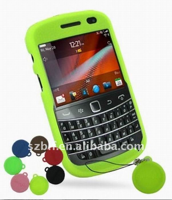 Super custom silicone cases for blackberry 9900