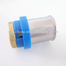 copper/brass fittings stopper for pex pipe