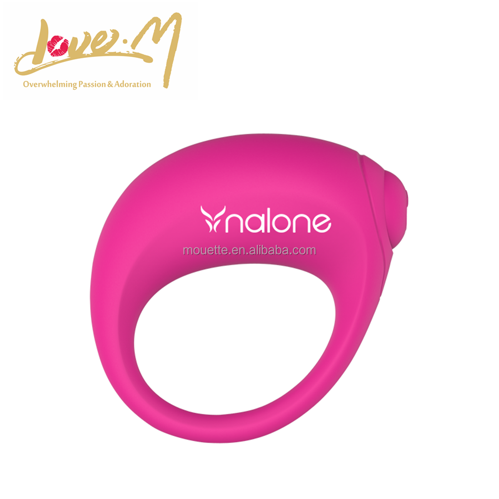 Silicone super silent vibrating cock ring for man penis long-lasting pleasure
