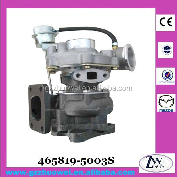 Turbocharger Spare Parts Used for VOLKSWAGEN 465819-5003S Auto Turbocharger for AGS2800 CCM 103KW