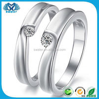 Imitation Name Brands Wedding Rings 925 Sterling Silver Jewelry Wholesale