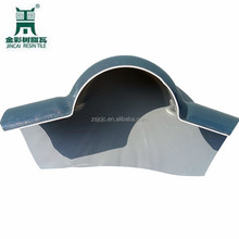 Hollow Waterproof Decoration Roofing Material PVC Plastic Roof Tiles