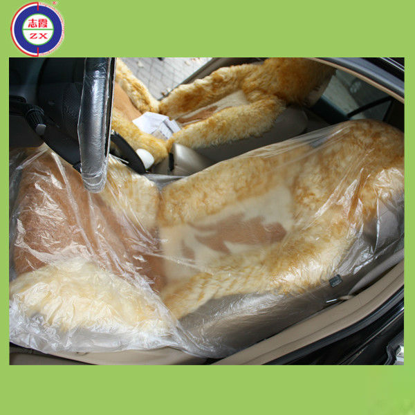Reasonable price sale plastic car seat cover,design car seat cover factory