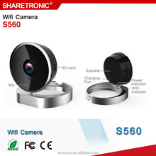 Fashionable Wifi IP Camera PTZ Easy Operate P2P Wireless IP Camera For Home Security