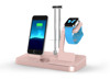 48W 4 in 1 Aluminum Power Docking holder Station with LED Lamp for iPhone Apple Watch Stand and Extra Dual USB Port