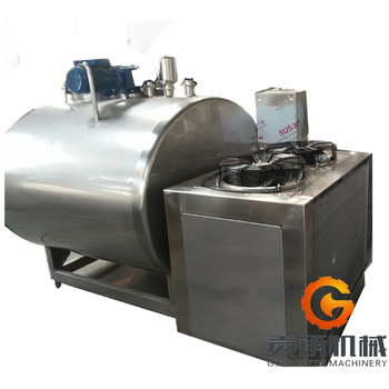 Hot sale tank milk to cooling equipment