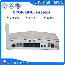 4FE+2Voice+WiFi GPON ONT Home Voice Gateway Similar as Huawei HG8245 ONT